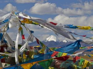 Mount Kailas Framed by Buddhist Prayer Flags by Jed Weingarten/National Geographic My Shot