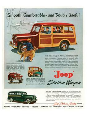 Jeep Station-Smooth Comfortable