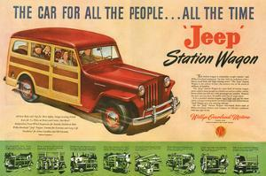 Jeep Station Wagon Car for All