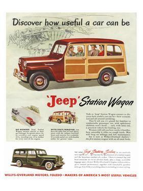 Jeep Station Wagon - Discover
