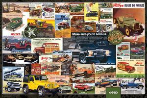 Jeep- Vintage Ads