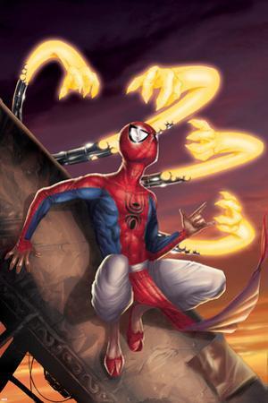 Spider-Man India No.3 Cover: Spider-Man