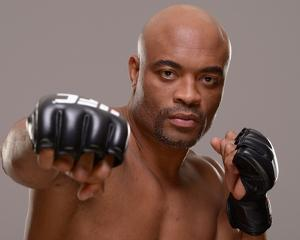 UFC Fighter Portraits: Anderson Silva by Jeff Bottari