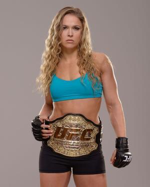 UFC Fighter Portraits: Ronda Rousey by Jeff Bottari