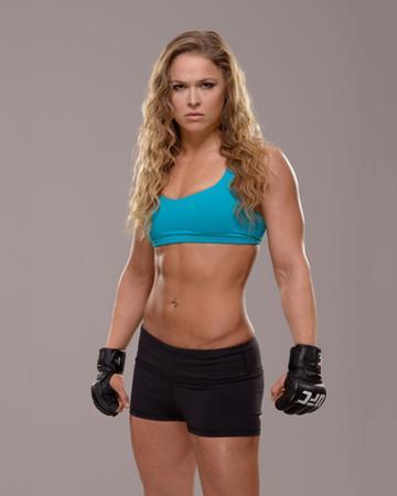 UFC Fighter Portraits: Ronda Rousey by Jeff Bottari