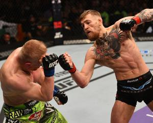 UFC Fight Night: Mcgregor v Siver by Jeff Bottari/Zuffa LLC