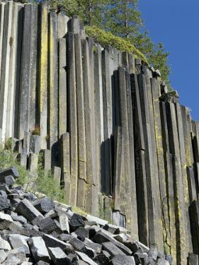 Basalt Columns of Devil's Postpile National Monument, California, Usa by Jeff Foott