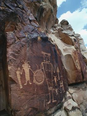 Petroglyphs by Jeff Foott