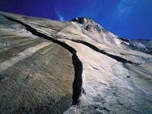 Skyward Detail of El Capitan by Jeff Foott
