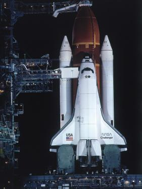 Space Shuttle Challenger by Jeff Foott