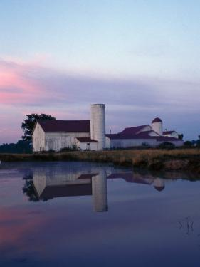 Century Farm at Dusk, Hamilton, Ohio by Jeff Friedman