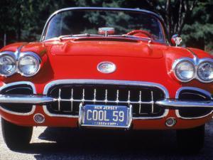 1959 Corvette Convertible by Jeff Greenberg
