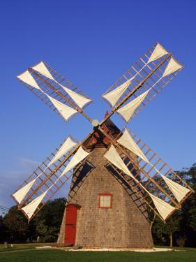 Cape Cod's Oldest Windmill, 1680s, MA by Jeff Greenberg