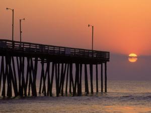 Fishing Pier, Virginia Beach, VA by Jeff Greenberg