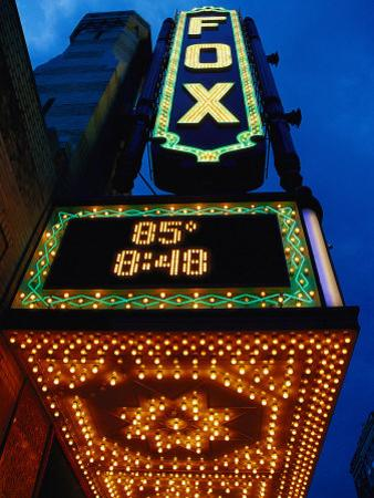 Fox Theater Entrance and Marquee, Atlanta, GA by Jeff Greenberg