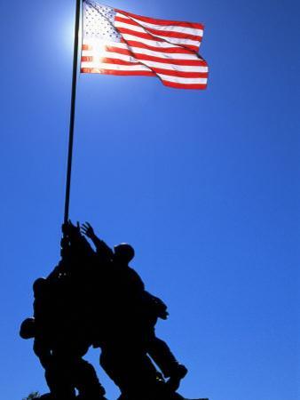 Iwo Jima Memorial, Arlington, VA by Jeff Greenberg