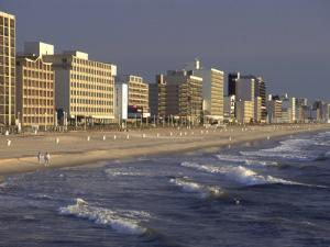 Oceanfront Hotels, Virginia Beach, VA by Jeff Greenberg
