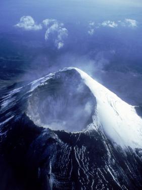 Popocatepetl Volcano, Mexico by Jeff Greenberg