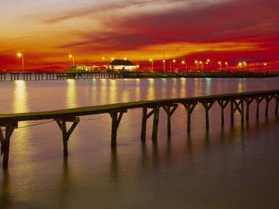Sunset Over Mobile Bay, Fairhope, Al