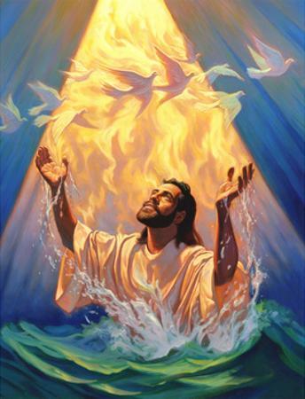 Christian Baptism of Jesus by Jeff Haynie