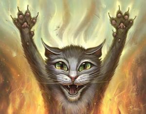 Pyscho Cat by Jeff Haynie