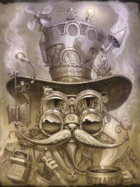 Steampunk Cat 2 by Jeff Haynie