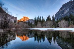 Yosemite, Half Dome Sunset by Jeff Krause Photography