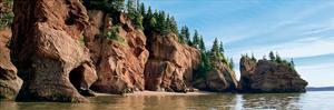 Hopewell Rocks, Bay of Fundy, New Brunswick by Jeff Maihara