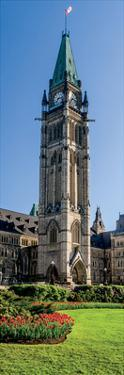 Peace Tower, Parliament, Ottawa, Ontario by Jeff Maihara