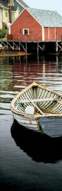 Row Boat, Peggy's Cove, Nova Scotia by Jeff Maihara