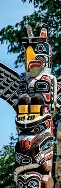 Totem Poles, Stanley Park, Vancouver, British Columbia by Jeff Maihara