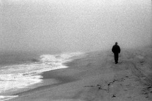 Man on Beach I by Jeff Pica