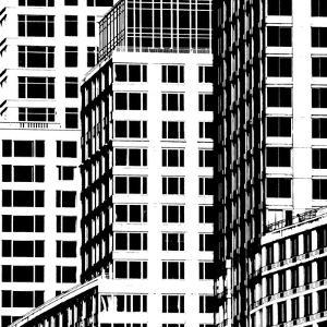 NYC in Pure B&W I by Jeff Pica