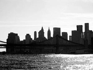 NYC Silhoutte by Jeff Pica
