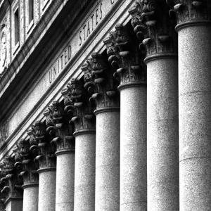 US Court Columns, NYC by Jeff Pica