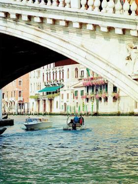 Venice Boat Ride 2 by Jeff Pica