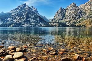 Clear Water at Jenny Lake by Jeff R Clow