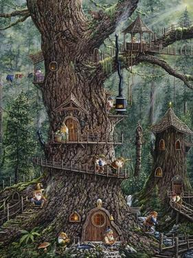 Gnomes Sweet Home by Jeff Tift