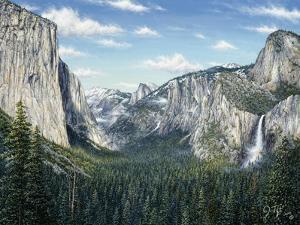 Yosemite Valley by Jeff Tift