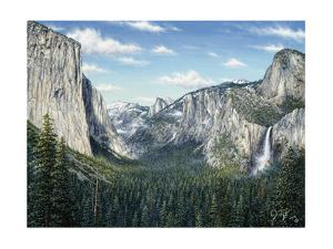 Yosemite Valley by Jeff Tift