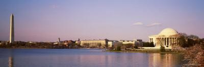 Jefferson Memorial and Washington Monument, Washington D.C., USA
