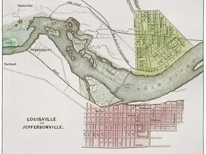 Jeffersonville, Indiana: Map
