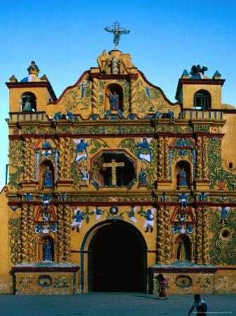 Church of San Andres Xecul,Totonicapan, Guatemala