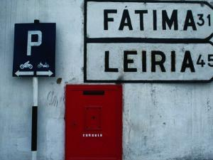Street Signs and Letterbox in Tomar, Tomar, Ribatejo, Portugal by Jeffrey Becom