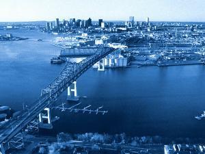 Aerial View of Boston, MA by Jeffrey Rotman