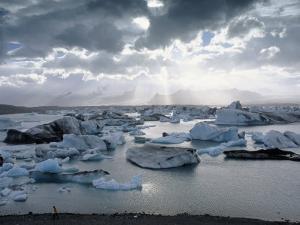 Jokulsarlon, Lagoon of Icebergs, SE Iceland by Jeffrey Rotman