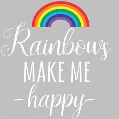 Rainbow Happy by Jelena Matic