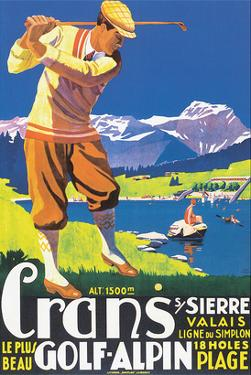 Crans, le plus beau Golf Alpin by JEM