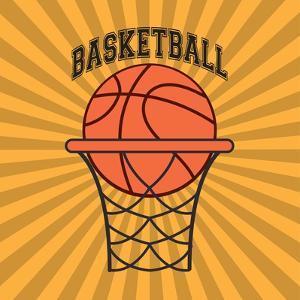 Basketball Sport Design by Jemastock