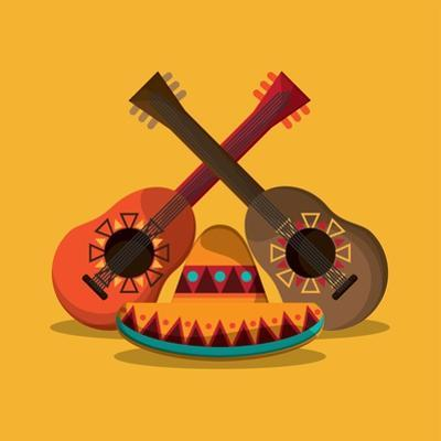 Mexican Culture Related Icons Image by Jemastock